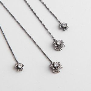 henri bendel Jewelry - Henri Bendel Flash Diamond Pendant Earrings
